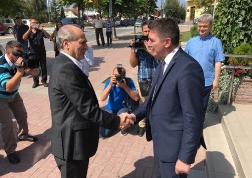 Milan Krkobabić visited Gornji Milanovac